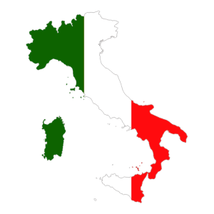Flag_Map_Of_Italy